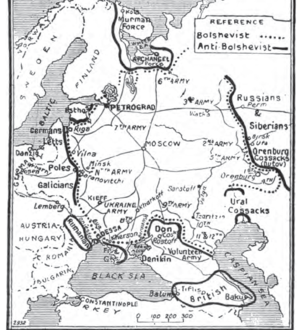 Allied intervention in Russia 1919